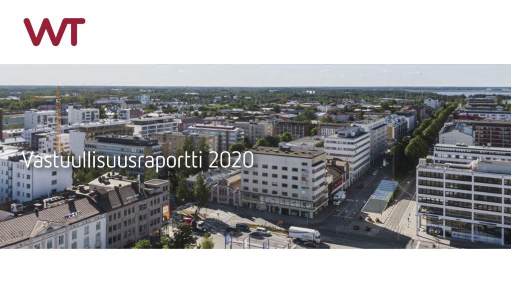 VVT Kiinteistösijoitus Oy Vastuullisuusraportti 2020